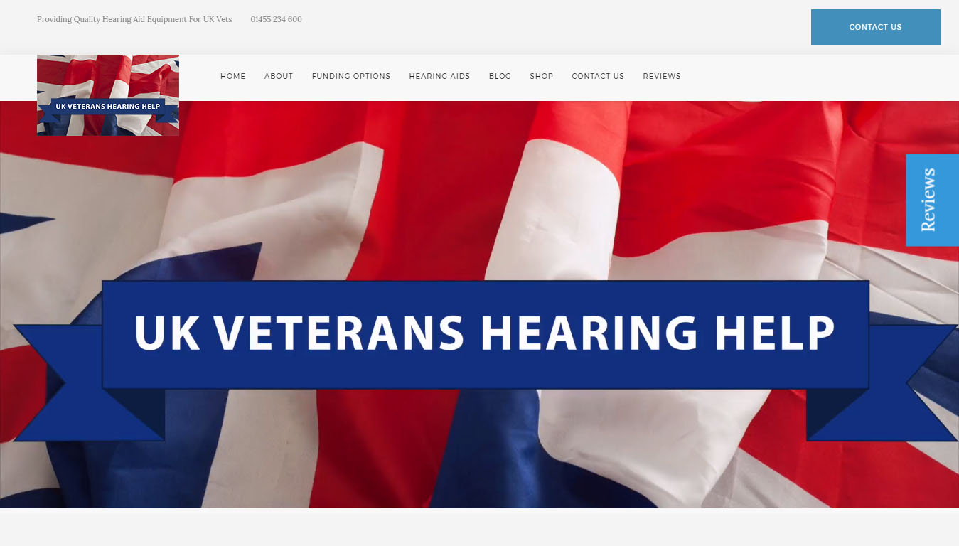 UK Veterans Hearing Help