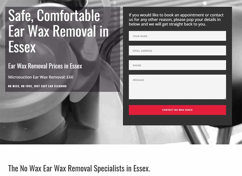Ear wax removal Specialist Essex