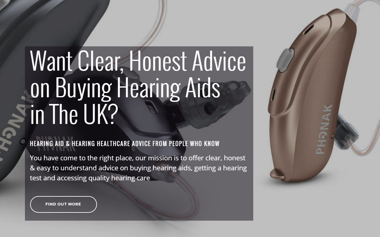 Clear honest advice on hearing aids
