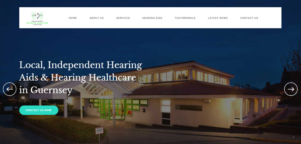 Hearing aid advice centre website